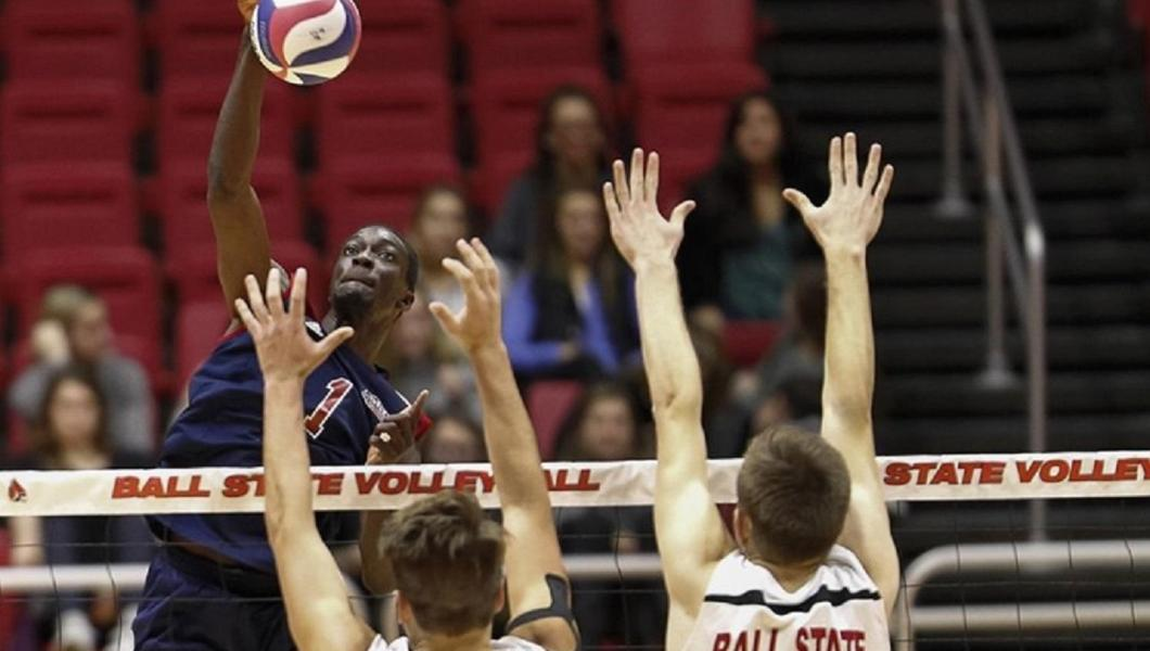 Men's Volleyball Wins Third Straight; Sweeps Regular Season Series from Coker