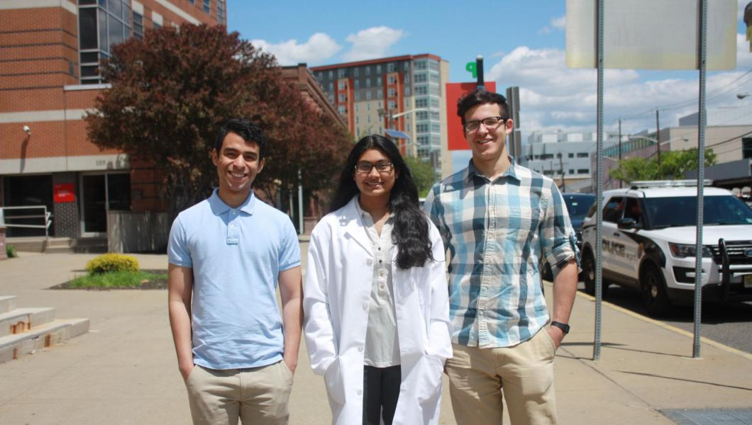 A trio of NJIT seniors heads to medical school