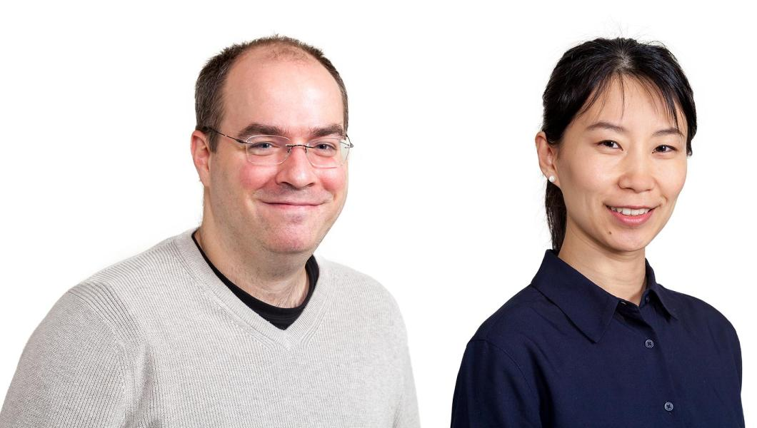MTSM faculty Stephen Taylor and Ming Fang