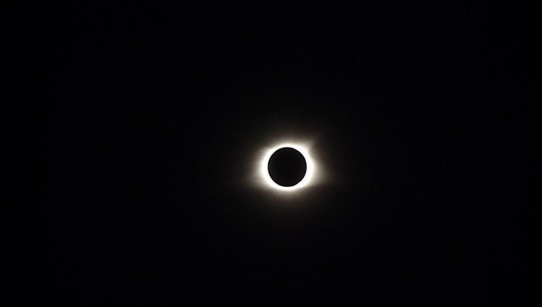 A shot of the Total Eclipse of the Sun