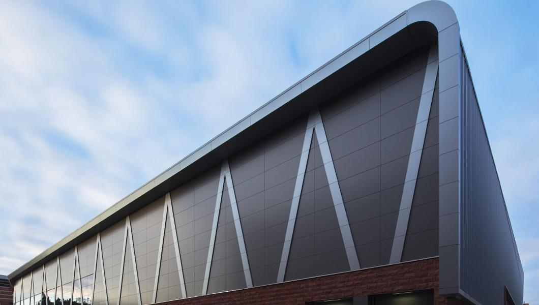 The new Wellness and Events Center at NJIT