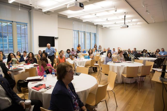 More than 60 STEM educators attended CPCP's STEM School Leadership Forum 2018 - Building STEM Partnerships.