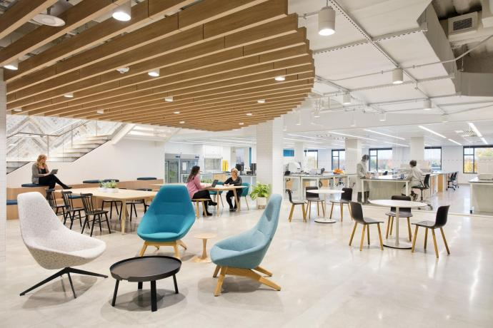Open work space at Genmab