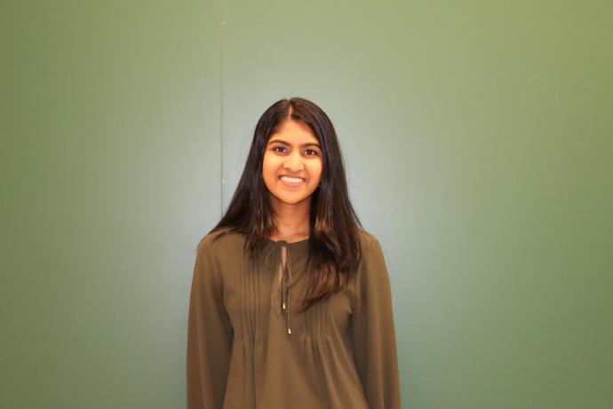 2018 Governor's STEM Scholar Priya Rajbabu