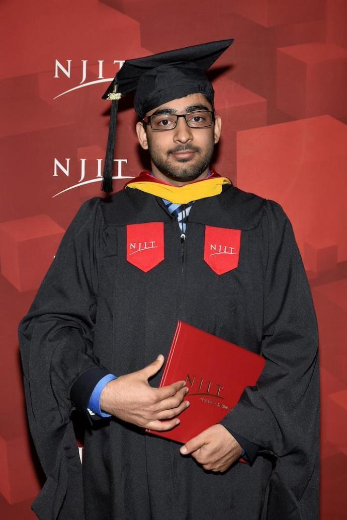 NJIT Graduate Agrim Sachdeva