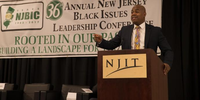 Newark Mayor Ras J. Baraka
