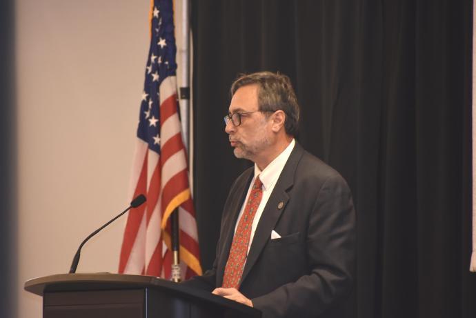Daniel Henderson was a keynote speaker.