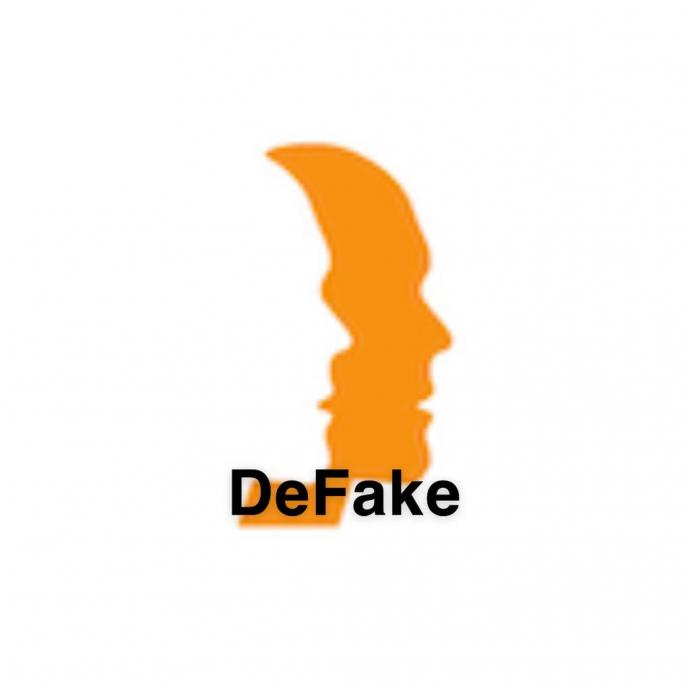 The DeFake logo