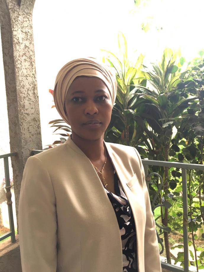 Fatoumata Gakou is the manager of the Malian Bank of Habitat New York City branch.