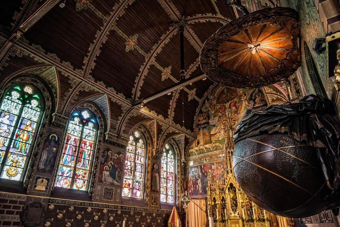 """""""Bruges Church"""""""