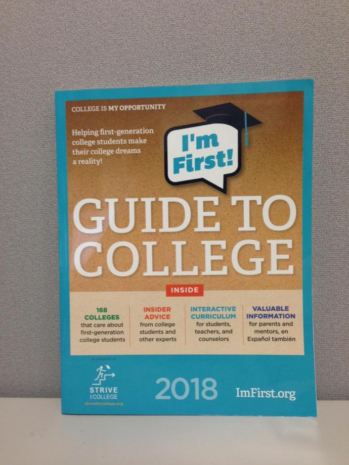 New Jersey Institute of Technology has been recognized in nonprofit Strive for College's 2018 I'm First! Guide to College.