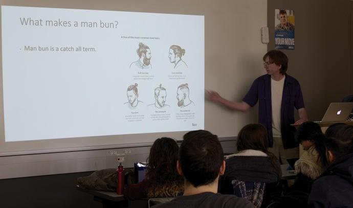 Hair today, gone tomorrow: Student explains the downward trend of the man bun