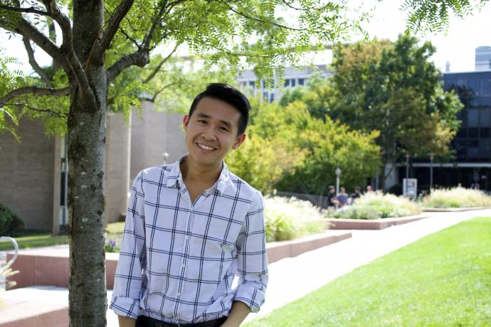 Liem Ho '17 was awarded a 2016 Provost Summer Research Fellowship to create a service that connects patients with LGBTQ-friendly health care providers in New Jersey.