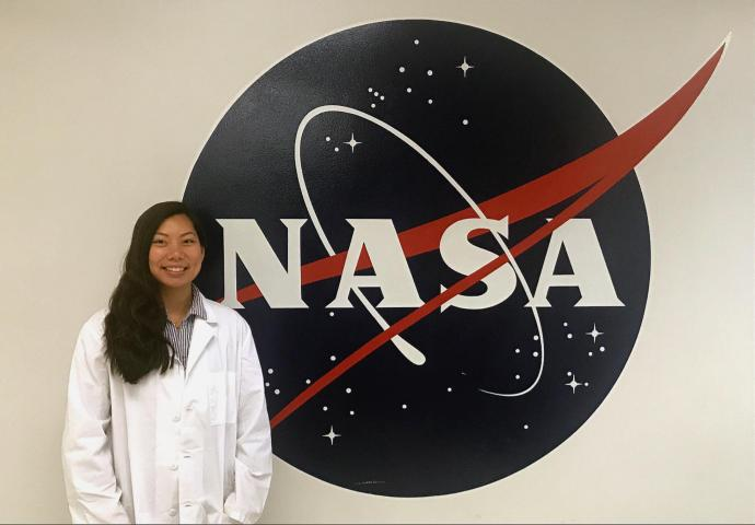 Torralba landed a semester-long internship at the NASA Kennedy Space Center.