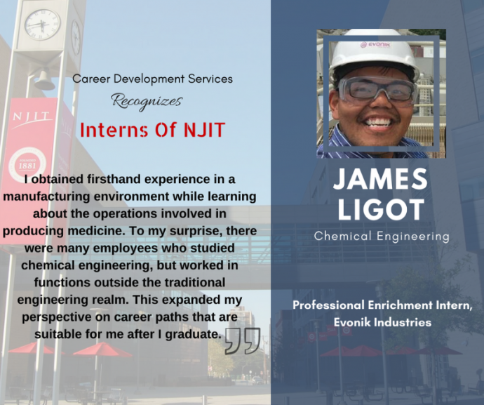 Elevating Academic Careers One Internship at a Time | NJIT News