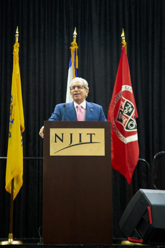 NJIT President Joel S. Bloom at the MetroLab Network 2018 Annual Summit