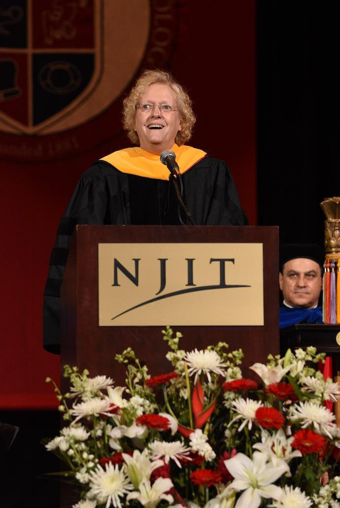 Dr. Leah Hope Jamieson delivered the 2018 Commencement address on May 15.