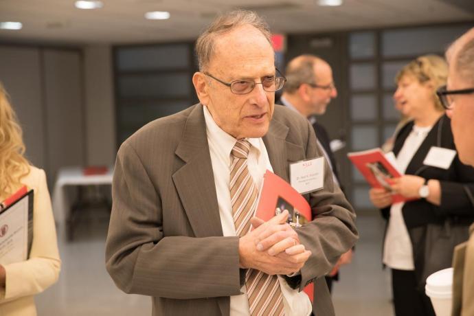 NJIT President Emeritus Saul Fenster