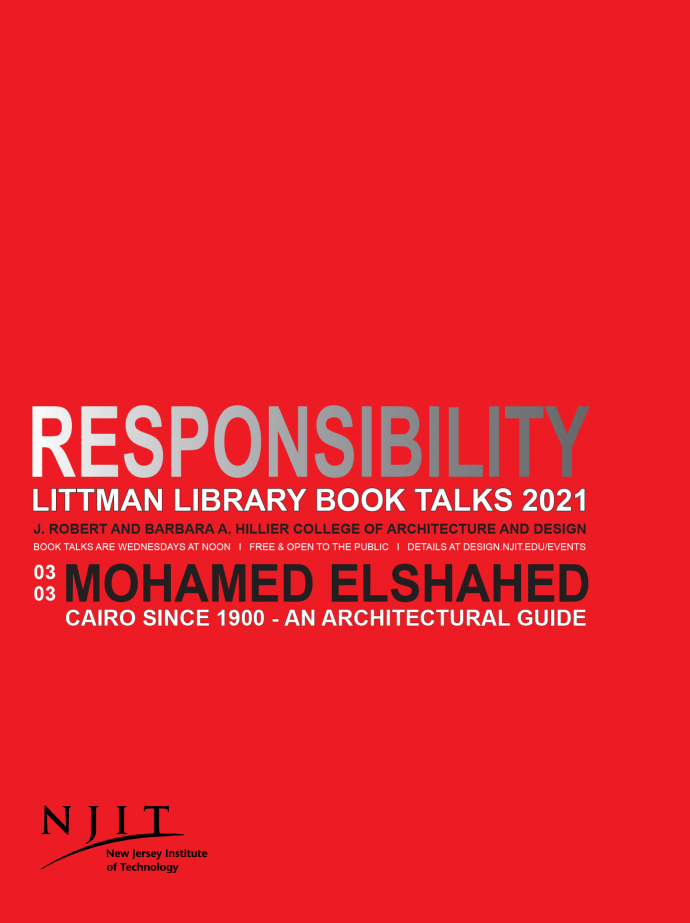 Mohamed Elshahed on Cairo Since 1900 - An Architectural Guide