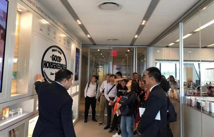 LIXIN faculty visit Hearst Media Group.