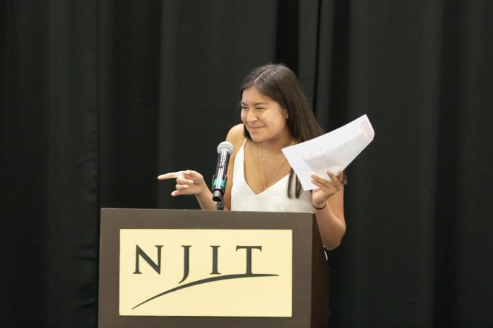 """Emely Gomez, Science Park High School: """"I'm just really grateful that I was able to meet people that genuinely believe in me."""""""