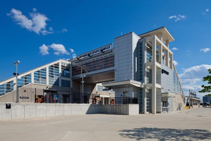 Vierheilig designed the rail station at the Meadowlands Sports Complex in Secaucus.