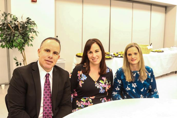 Morris Plains District Presenters — Mark Maire, superintendent of schools; Christine Lion-Bailey, director of technology and innovation; and Lindsay Viera, curriculum director.