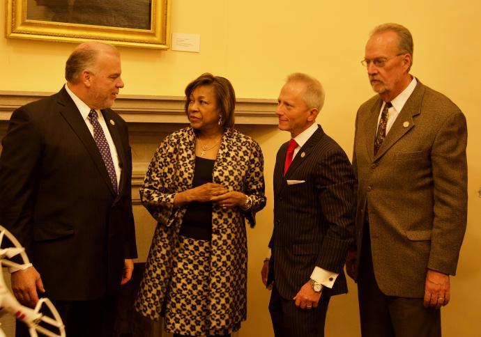 New Jersey Senators Sweeney, Cunningham, Van Drew, and Whelan