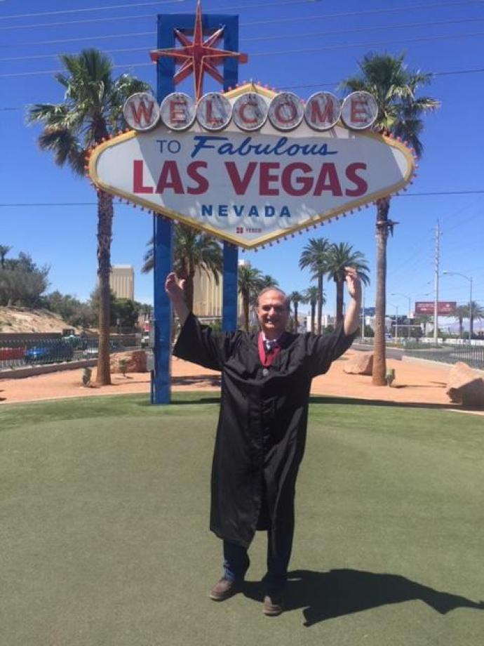 Cozzarelli received his Fellowship medal during the Investiture of Fellows Ceremony at the AIA Conference on Architecture 2019 in Las Vegas, Nev.