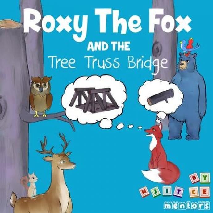 The cover of Roxy the Fox
