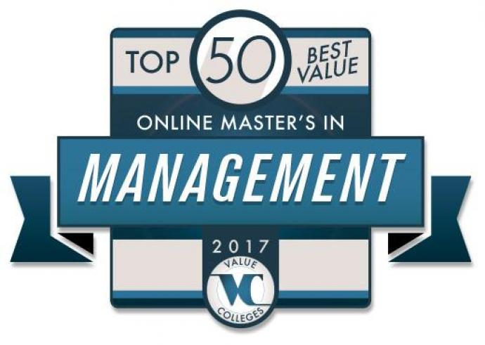 NJIT ranks #28 of the Top 50 Best Value Online Master's in Management Programs for 2017.
