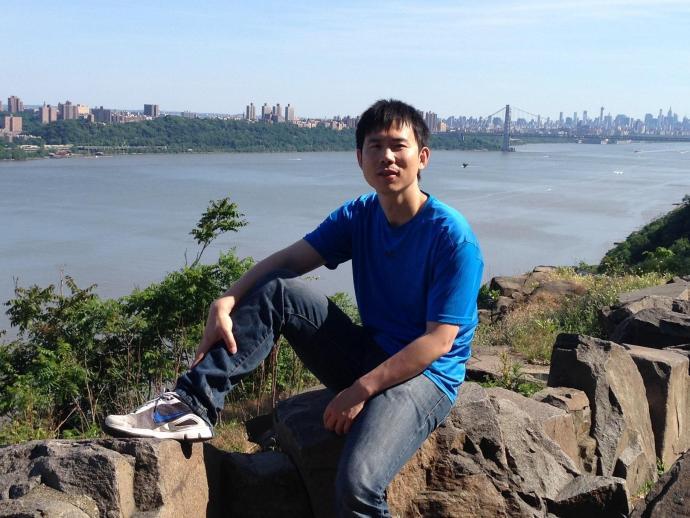 MTSM Ph.D. student Zhenrui Cao.