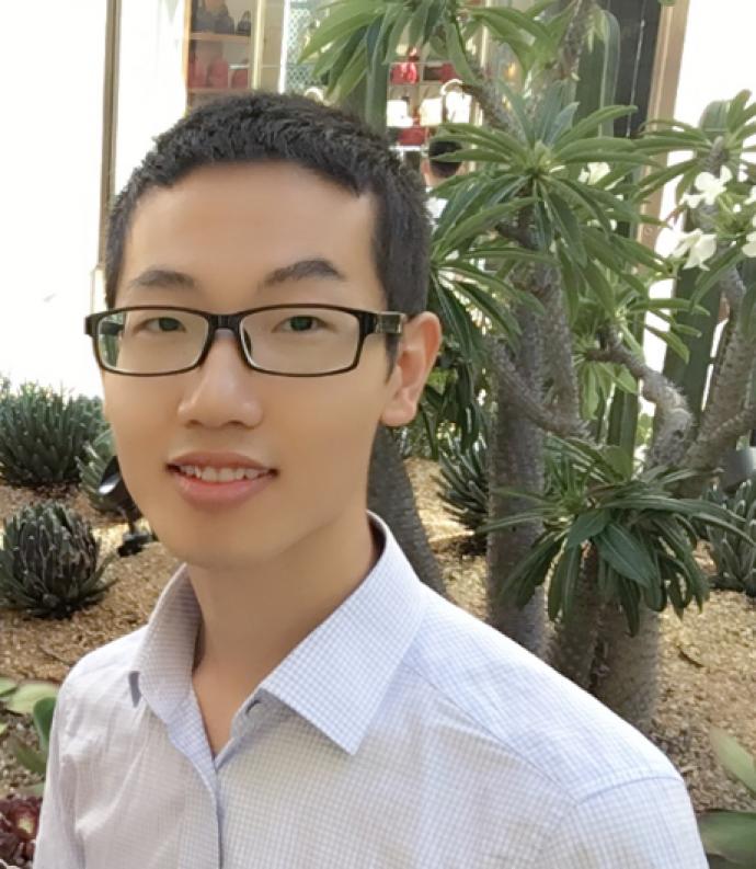 MTSM Ph.D. student Shuai Zhao.