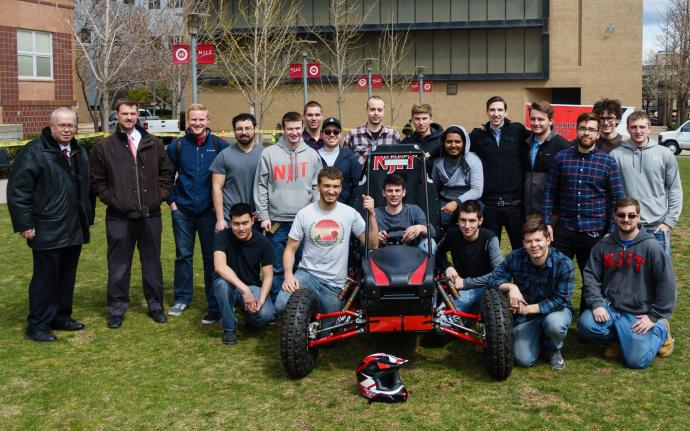 NJIT's Baja car team debuts its revamped 2016 model