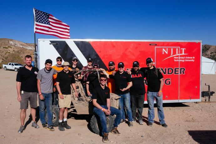 NJIT Baja team
