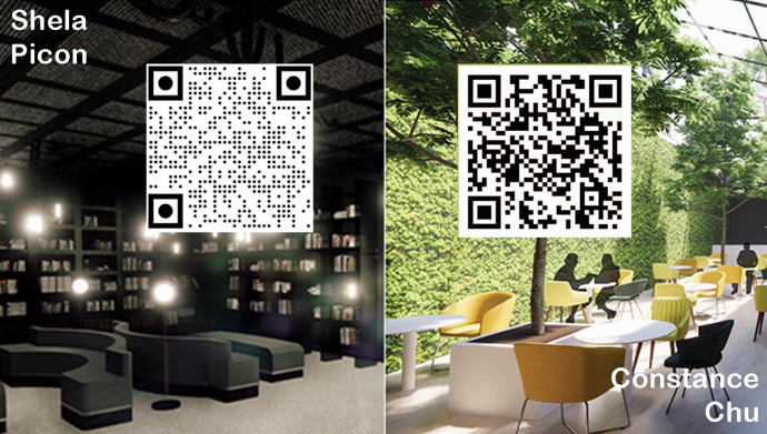 Use phone camera to scan the QR code for video walk through of each project