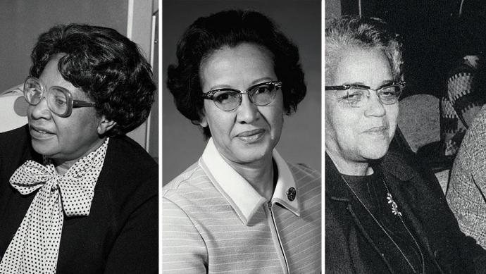 "The real-life ""Hidden Figures"" Mary Jackson, Katherine Johnson and Dorothy Vaughan"