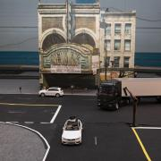 Model Cars With Human Drivers Take to the Streets of a Miniaturized Newark